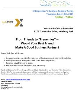 VBC_Entrepreneurial Series Flyer_June 19 2014 [pk]
